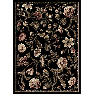 "Optimum 7'10"" x 10'6"" Rug - Black"