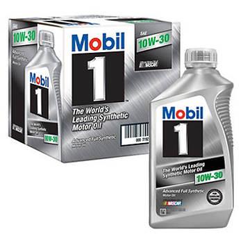 Mobil 1 10W30 Synthetic Motor Oil, 1 Qt. - 6 pk.