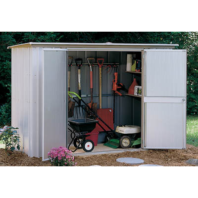 Arrow 8' x 3' Garden Shed