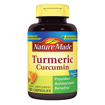 Nature Made Turmeric Capsules, 180 ct.