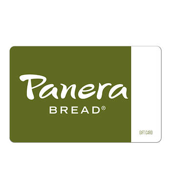 $15 Panera Bread Gift Card
