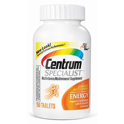 Centrum Specialist Energy Multivitamin Supplement - 150 Count
