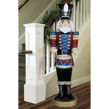 5' Musical Animated Nutcracker with LED Lights