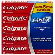 Colgate Anticavity Great Regular Flavor Toothpaste, 5 pk./8 oz.