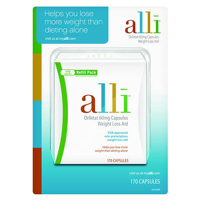 alli Orlistat 60mg Weight Control Capsules - 170 Count