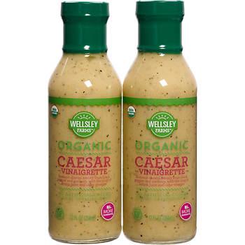 Wellsley Farms Organic Caesar Dressing, 2 pk./12 oz.