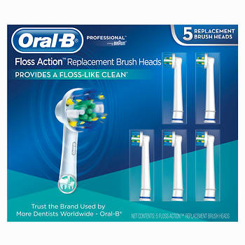 Oral-B Replacement Electric Toothbrush Heads, 5 ct.
