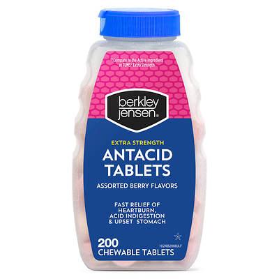 Berkley Jensen Berkley Jensen Extra Strength Antacid Tablets, Assorted Berry Flavors,