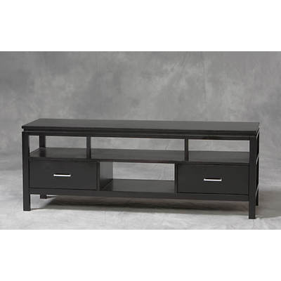 "Linon Sutton TV 54"" Entertainment Center - Black"