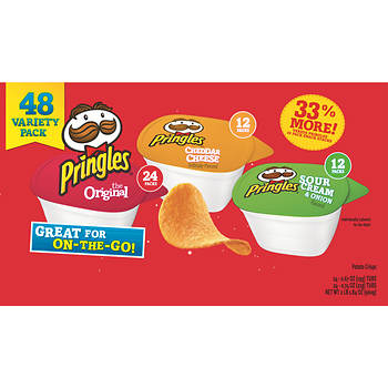 Pringles Snack Stacks Variety Pack, 48 ct.