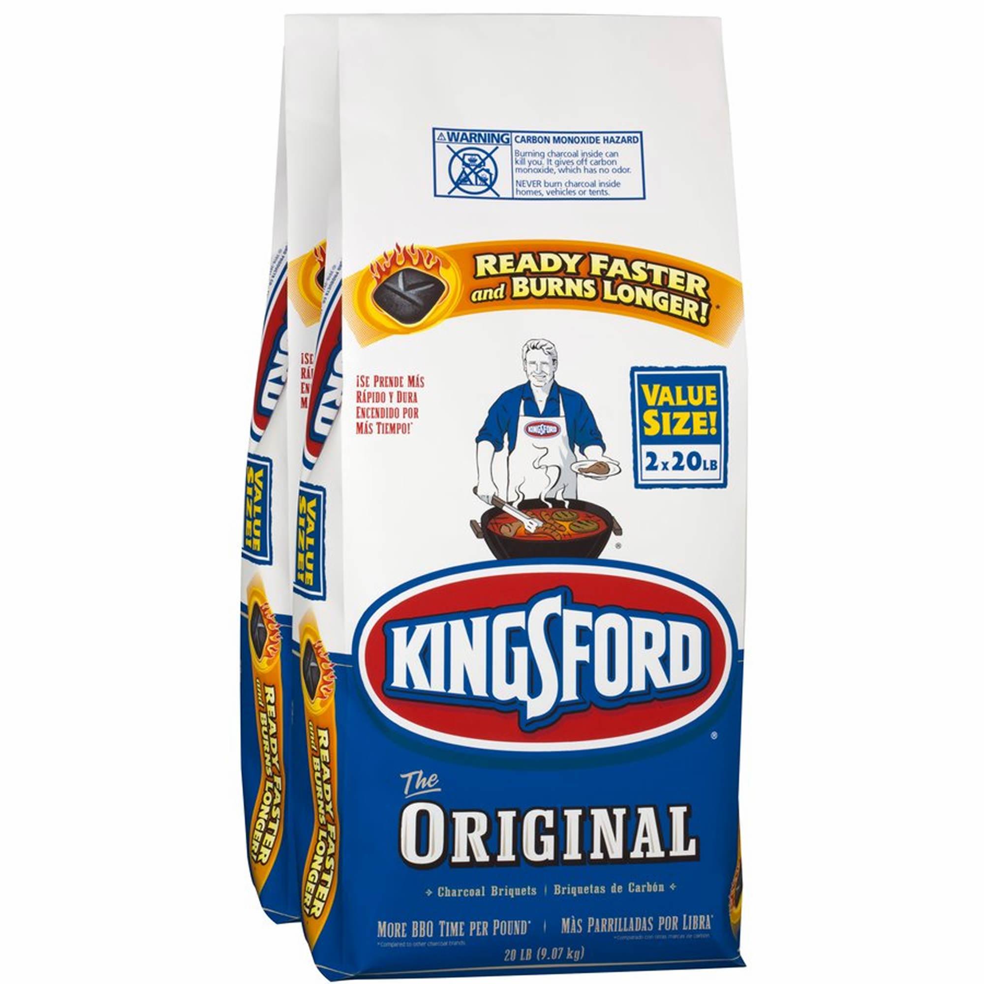 Kingsford charcoal briquettes lbs pk bj s