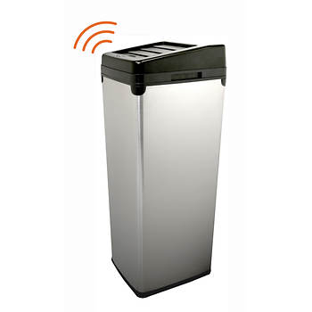 iTouchless SX 14-Gal. Stainless Steel Touchless Trash Can
