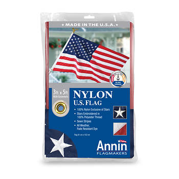 Annin 3' x 5' Nylon American Flag