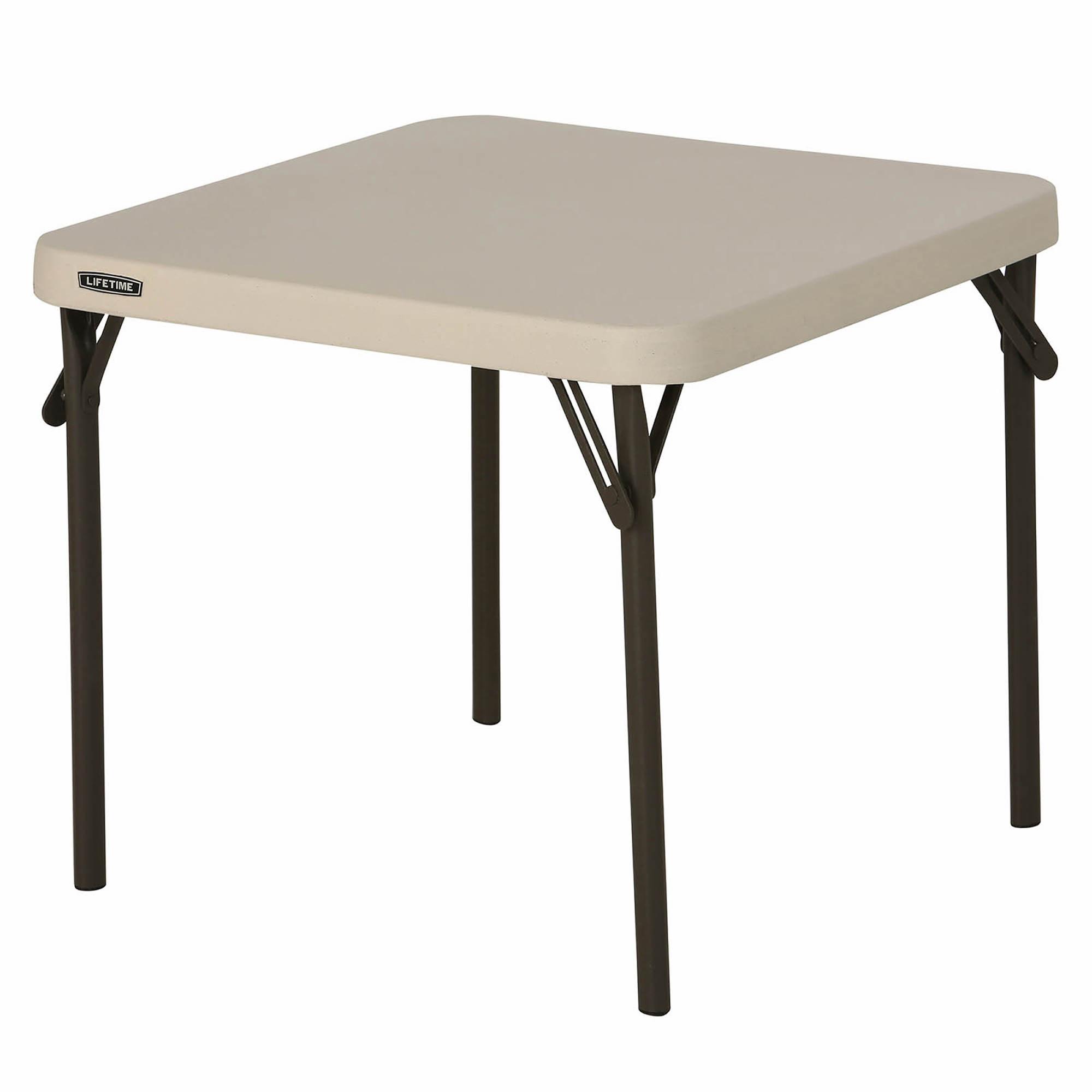 Square folding tables - Lifetime Children S Square Folding Table
