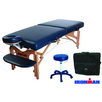 Ironman Mojave Massage Table with Carry Bag and Bonus Stool
