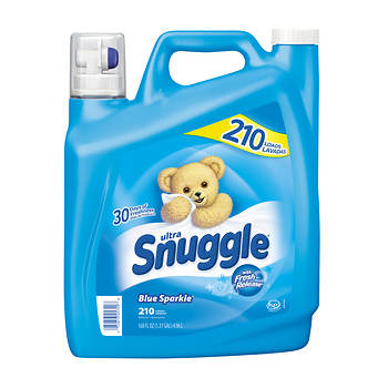 Snuggle Ultra Blue Sparkle Fabric Softer With Fresh Release, 168 fl. oz.