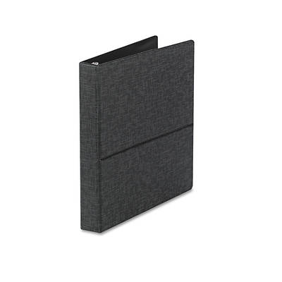 "Cardinal Vertical Easel Ring Binder, 8-1/2"" x 11"", 1"" Capacity (Black)"