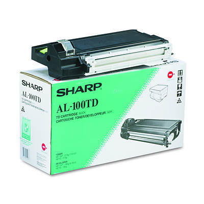 Sharp AL100TD Toner with 6,000 Page-Yield -Black