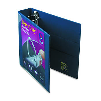 "Avery Nonstick Heavy-Duty EZD Reference View Binder, 2"" Capacity (Navy Blue)"
