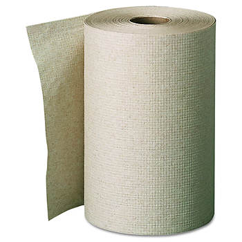 "Georgia Pacific Envision Unperforated Paper Towel Roll, 7 7/8"" x 350', 12 ct. - Brown"