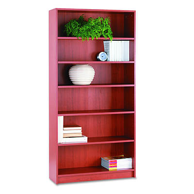 HON 1870 Series 6-Shelf Bookcase - Henna Cherry