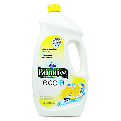 Palmolive Eco+ Automatic Lemon Dishwashing Gel, 75 Oz.