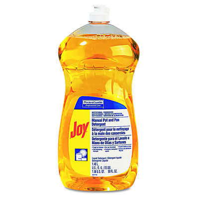 Joy Dishwashing Liquid, 38 Oz., 8 Bottles per Carton