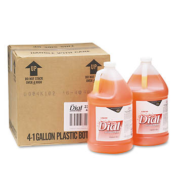 Dial Liquid Gold Antimicrobial Soap, 1 Gallon Bottle, 4 Bottles per Carton