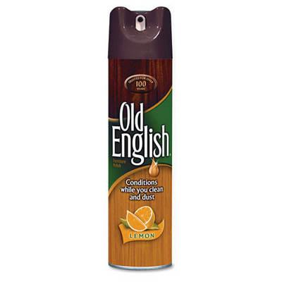 Old English Furniture Polish, 12.5 Oz. Aerosol, 12 Cans per Carton