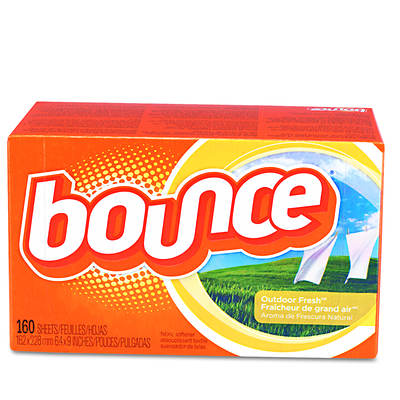 Bounce Fabric Softener Sheets, 160 Sheets per Box, 6 Boxes per Carton