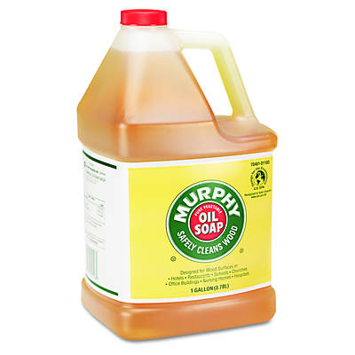Murphy Oil Soap Concentrate, 1 Gallon, 4 Bottles per Carton