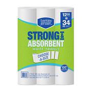 Berkley Jensen 160-Sheet Choose-a-Size Paper Towels, 12 pk.