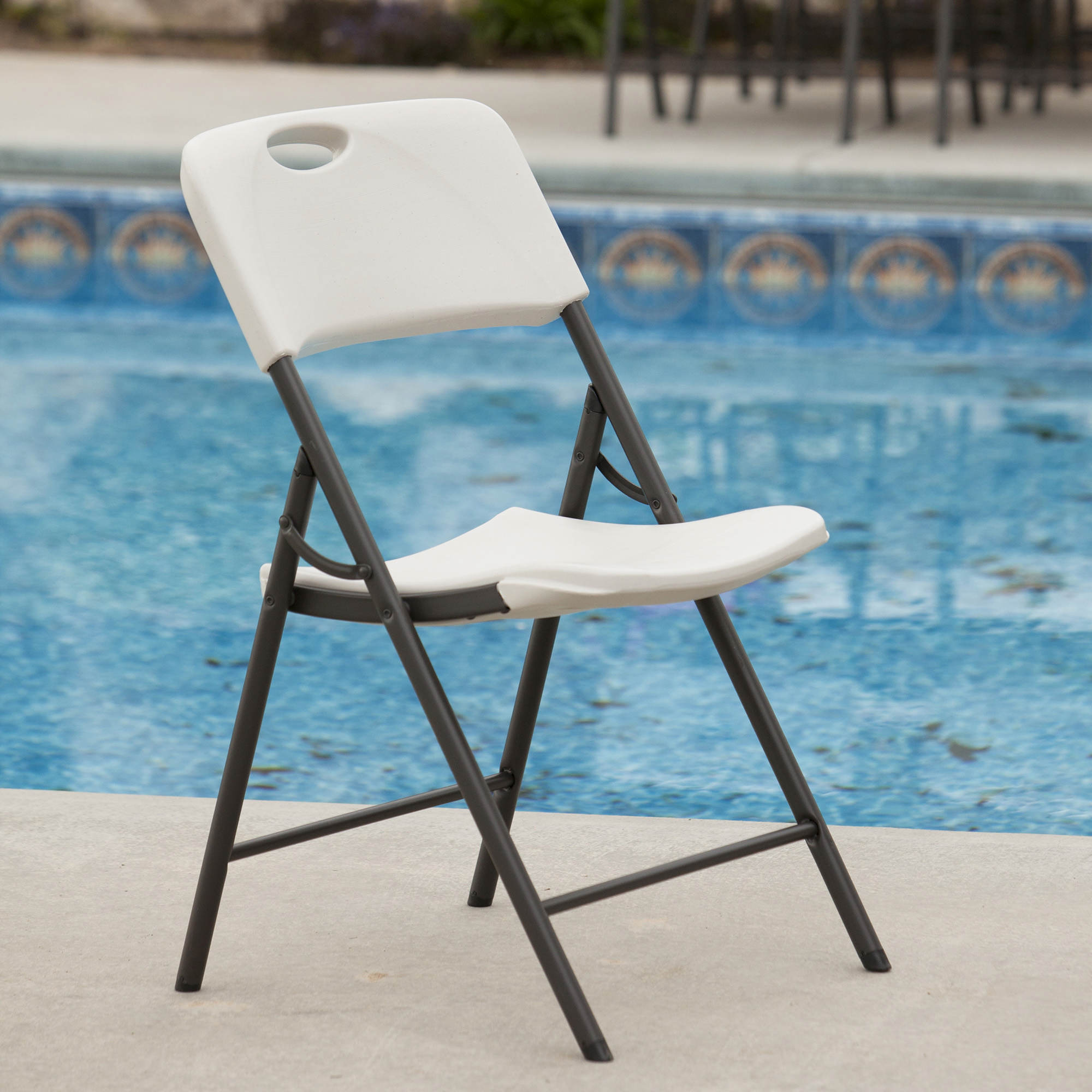 Lifetime Contemporary Light Commercial Folding Chair Bj