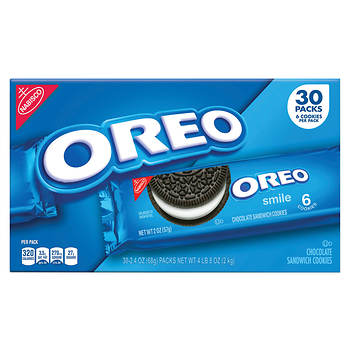 Oreo Cookies, 30 pk./72 oz.