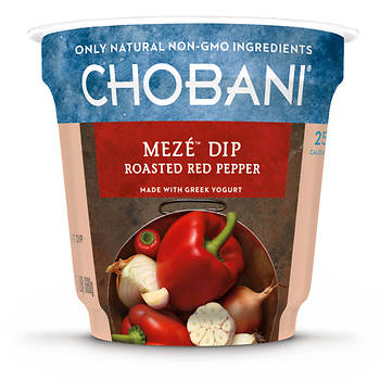 Chobani Meze Dip Roasted Red Pepper, 24 oz.