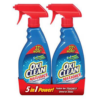 OxiClean Max Force Laundry Stain Remover, 2 pk./16 oz.