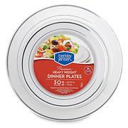 Berkley Jensen Premium Heavyweight Dinner Plates, 30 ct.