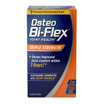 Osteo Bi-Flex Triple Strength Caplets, 180 Count