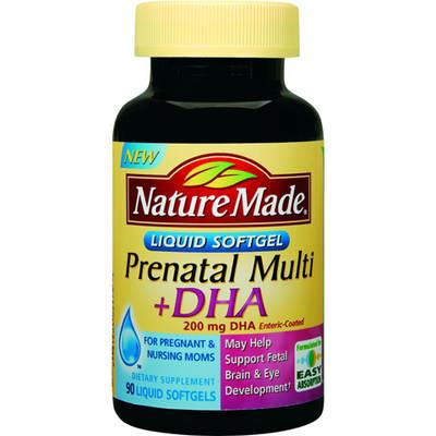 Nature Made Prenatal Vitamins Bj S