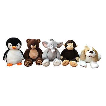 Hug Fun Plush Animals - Assorted