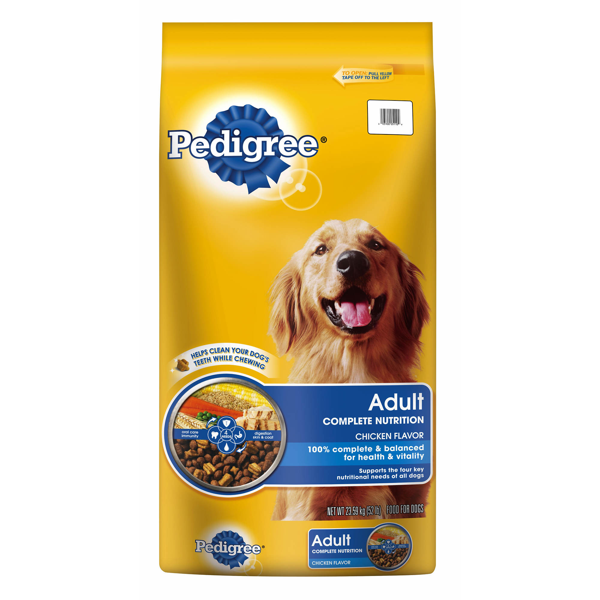 Pedigree Adult Complete Nutrition Chicken Flavor Dry Dog