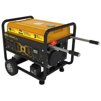 DEK Pro Series 7,550 Watt, 10,000 Surge Watt Commercial Generator with Electric Start