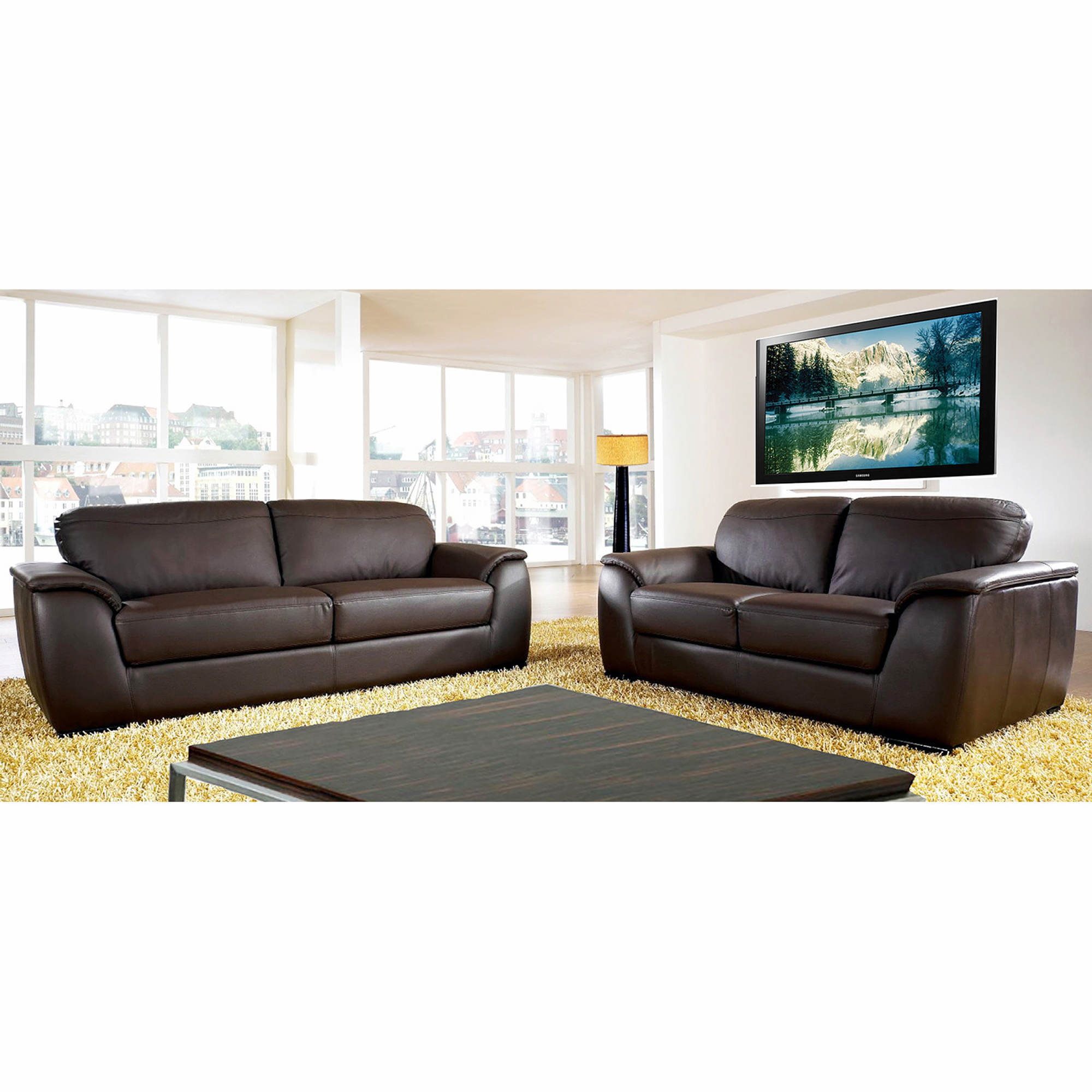 Abbyson Avalon 2-Piece Room Set