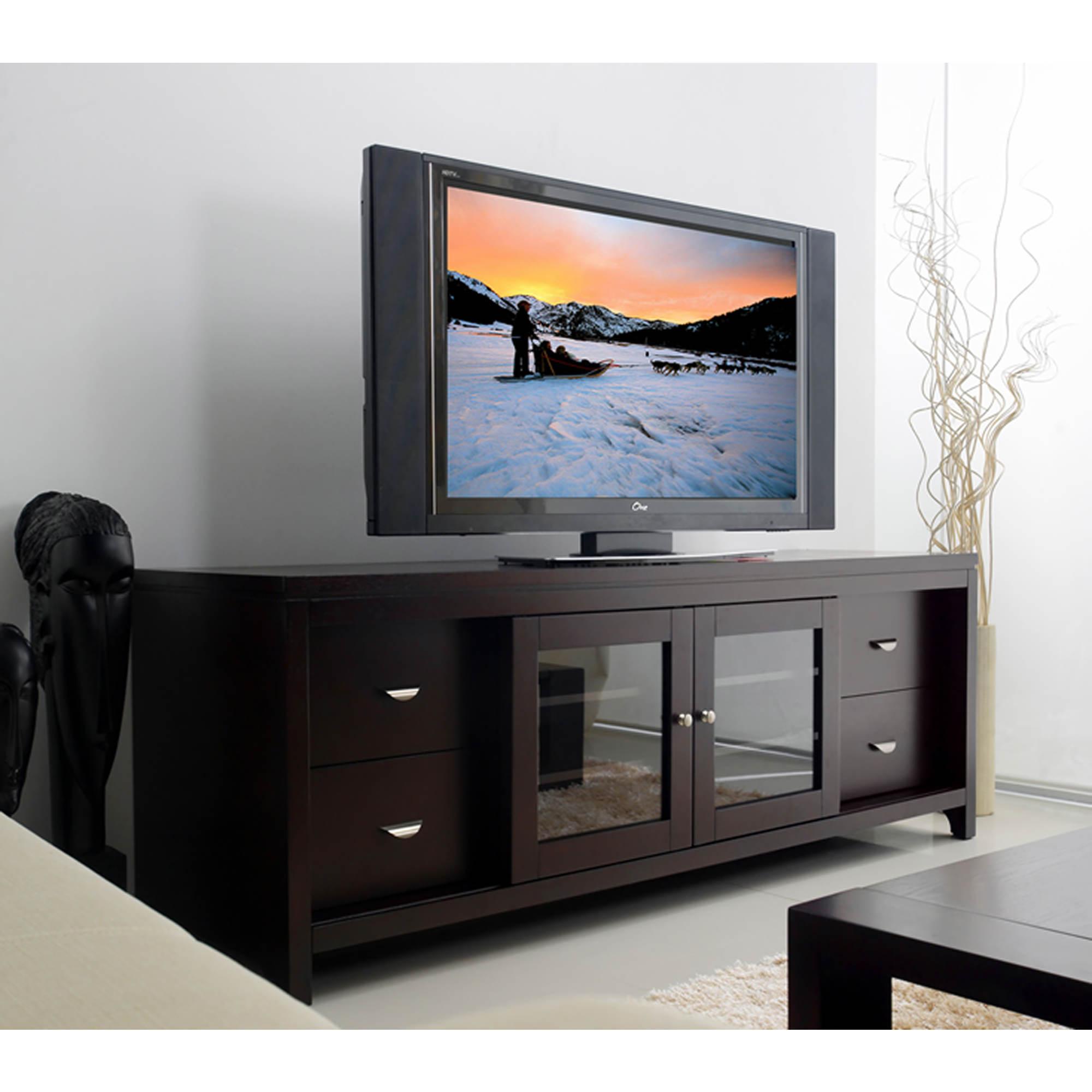Cheap legends furniture cambridge fireplace media center in cherry - Abbyson Living Montego 72 Entertainment Center Espresso
