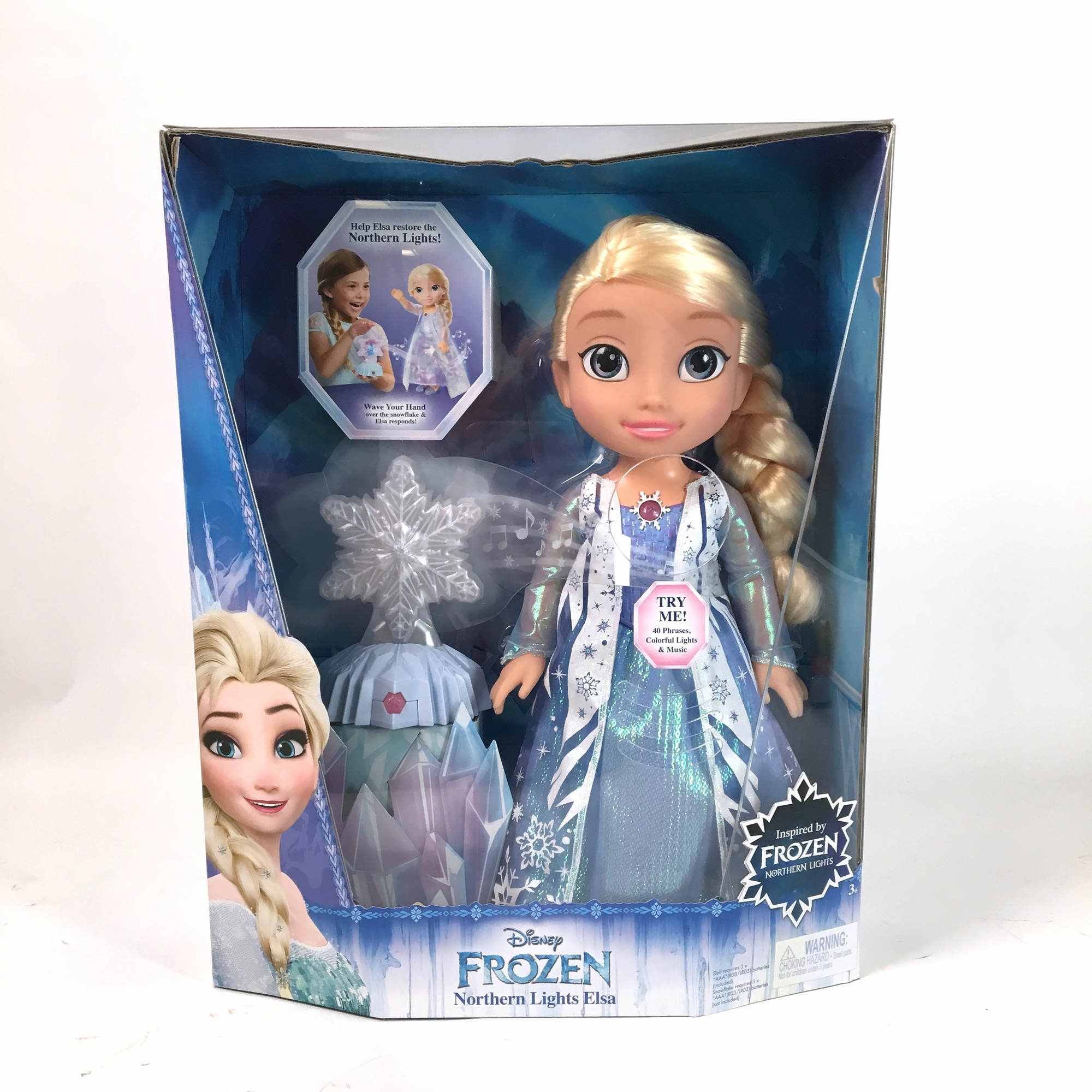 Disney Frozen Northern Lights Elsa Doll Bj S Wholesale Club