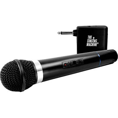 The Singing Machine Wireless Microphone Karaoke Accessory