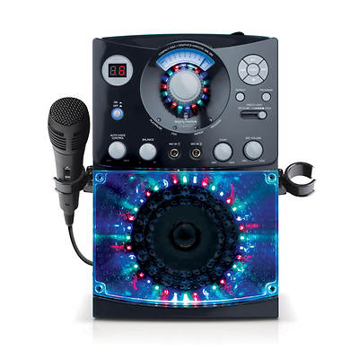 The Singing Machine Disco Lights CD+G Karaoke System