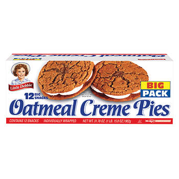 Little Debbie Oatmeal Creme Pies, 12 pk./31.78 oz.