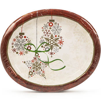 "Artstyle 10"" Dinner Platters, 35 ct. - Holiday"