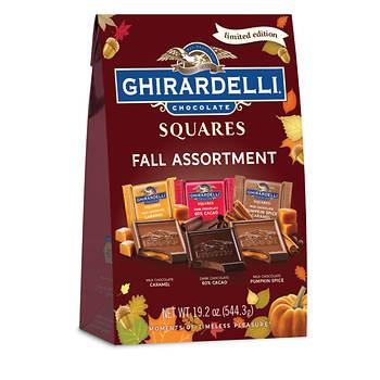 Ghirardelli Chocolate Squares Fall Assortment XL Bag, 19.2 oz.